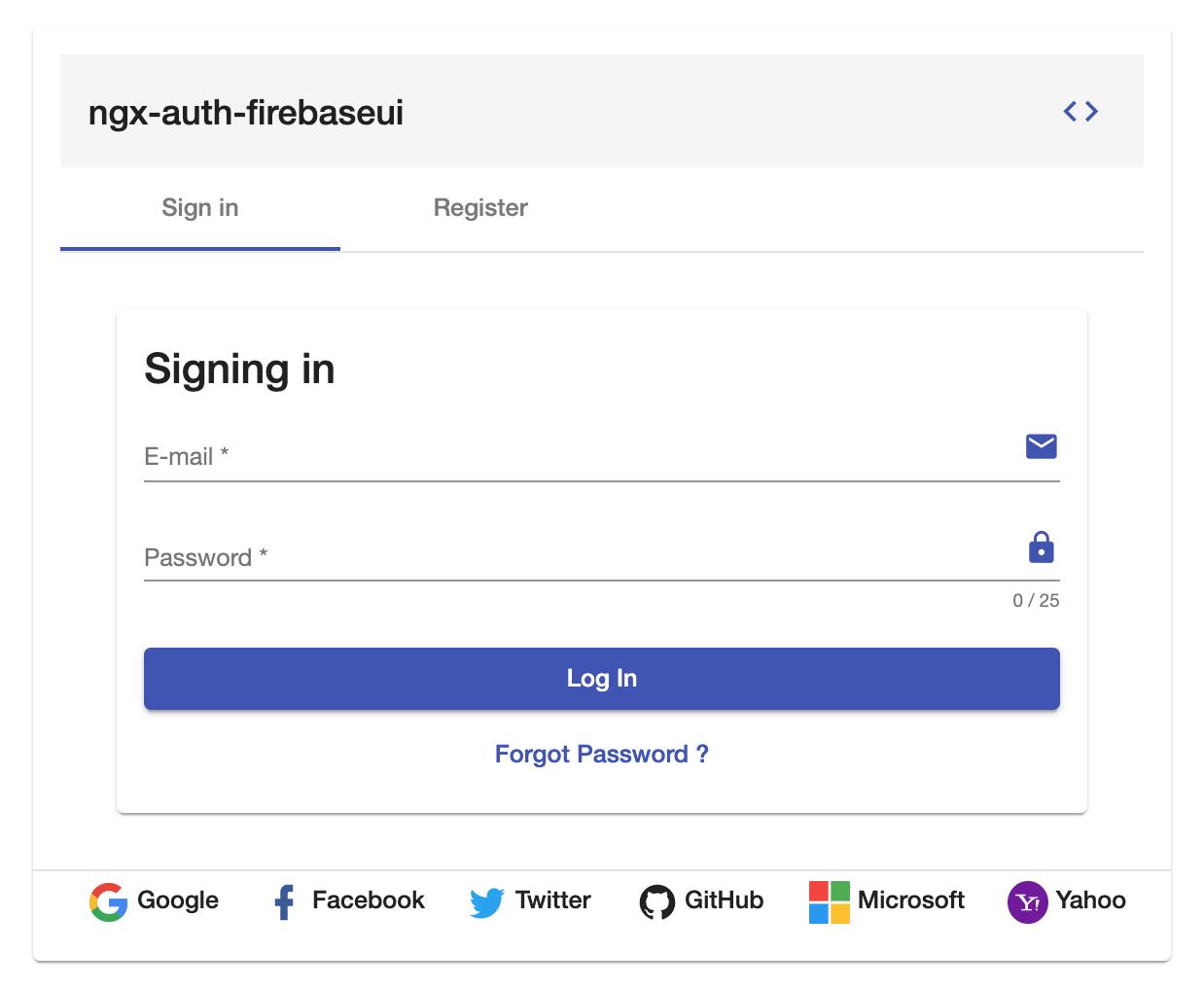 ngx-auth-firebaseui sign in