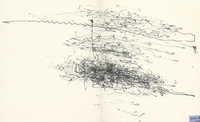 Интерактивная визуализация первой прелюдии Баха