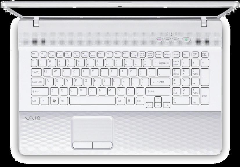 Мой предыдущий ноутбук — Sony Vaio VPCEJ