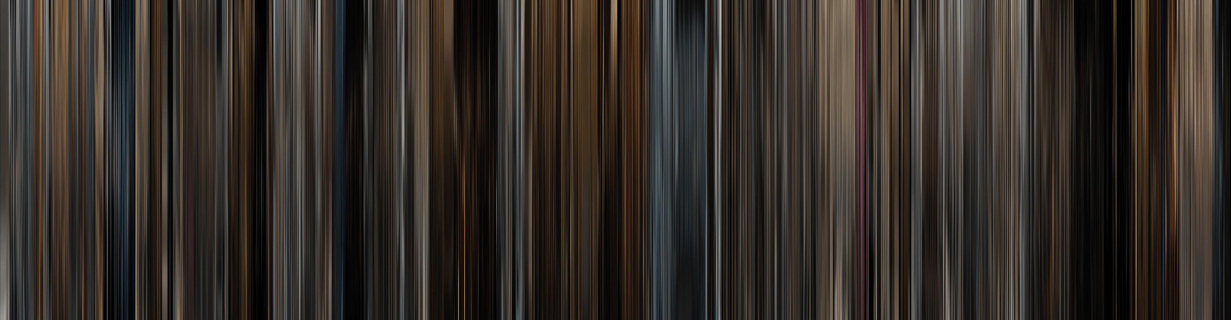 Цветовой штрих код фильма Пленницы