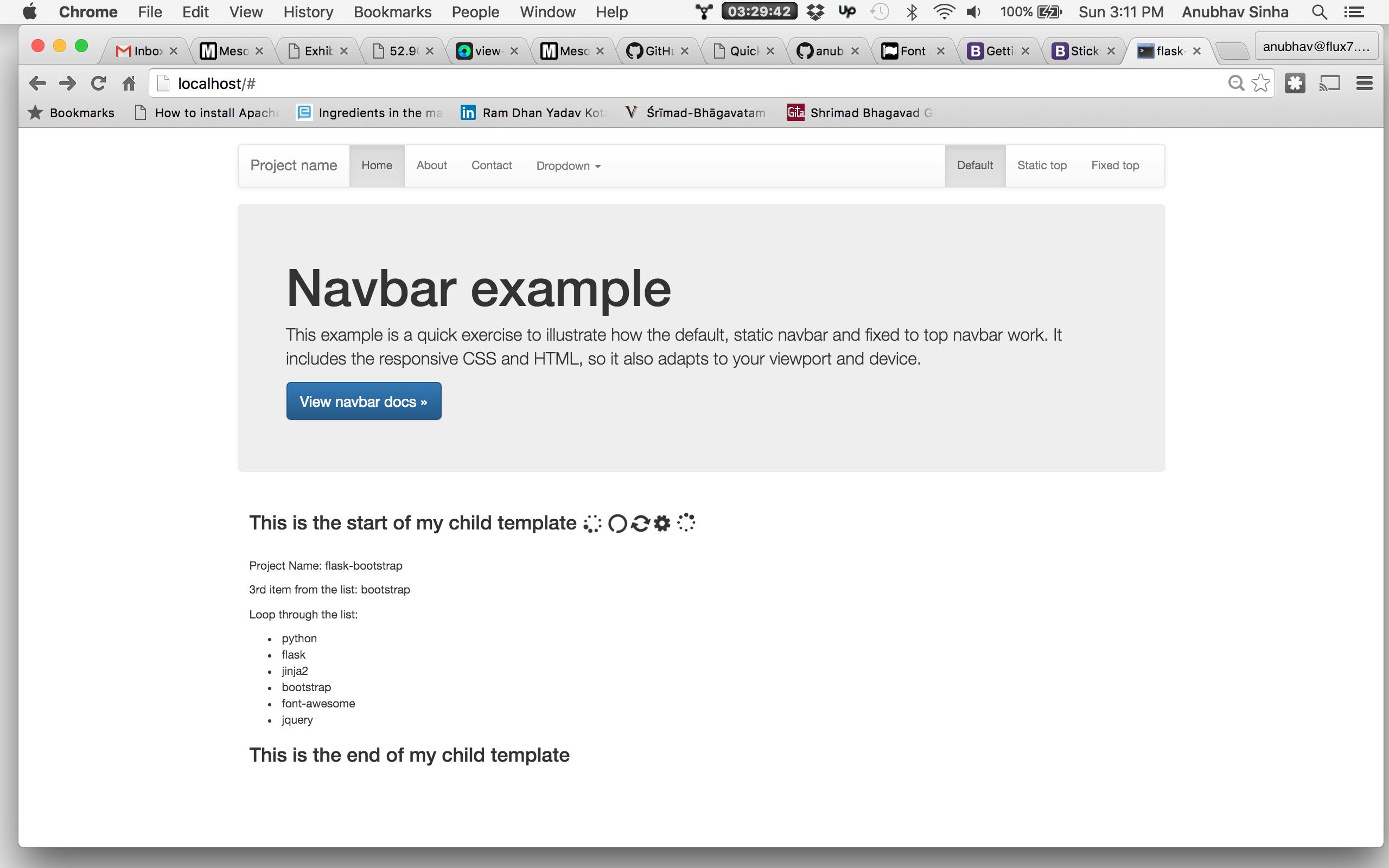 GitHub - anubhavsinha/flask-bootstrap: Basic flask app using twitter ...