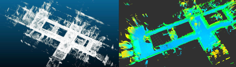 Example of an indoor dataset