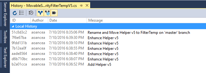 Keep file from new branch
