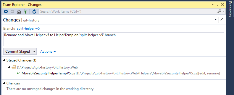 Rename and Move file on new branch
