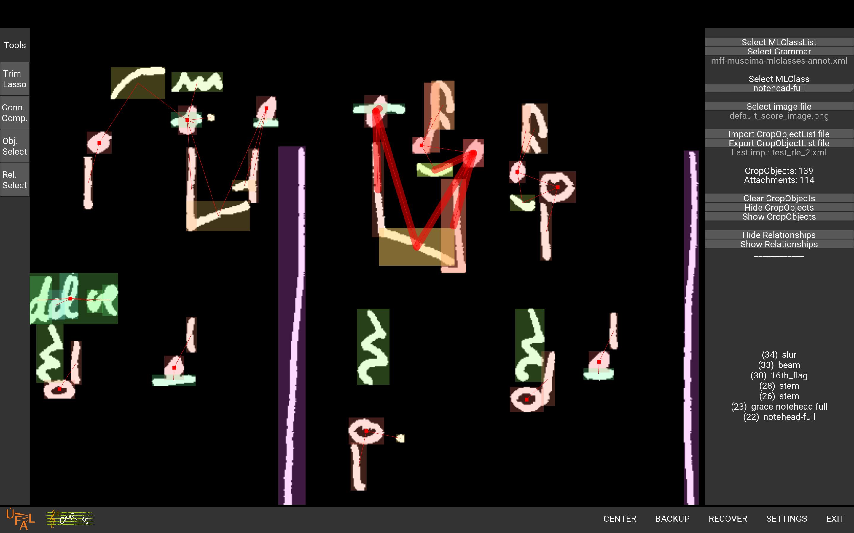 Example of MUSCIMA++ dataset