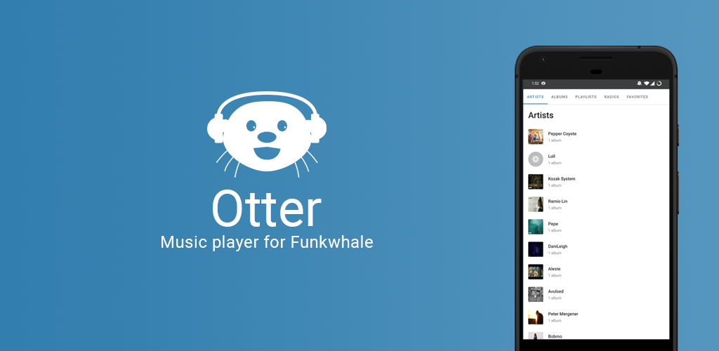 Otter graphic