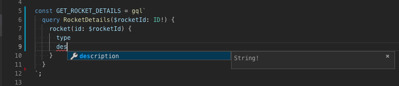 VSCode Autocompletion