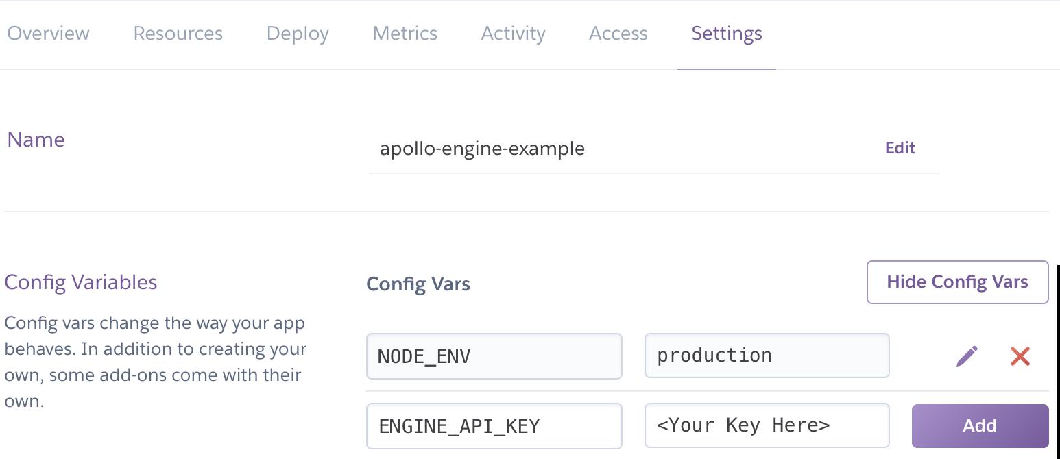Add Engine Api Key Screenshot