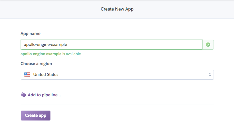 Create App Screenshot