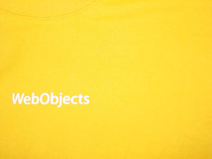Orange WebObjects t-shirt