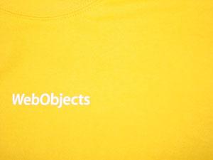 Orange WebObjects t-shirt