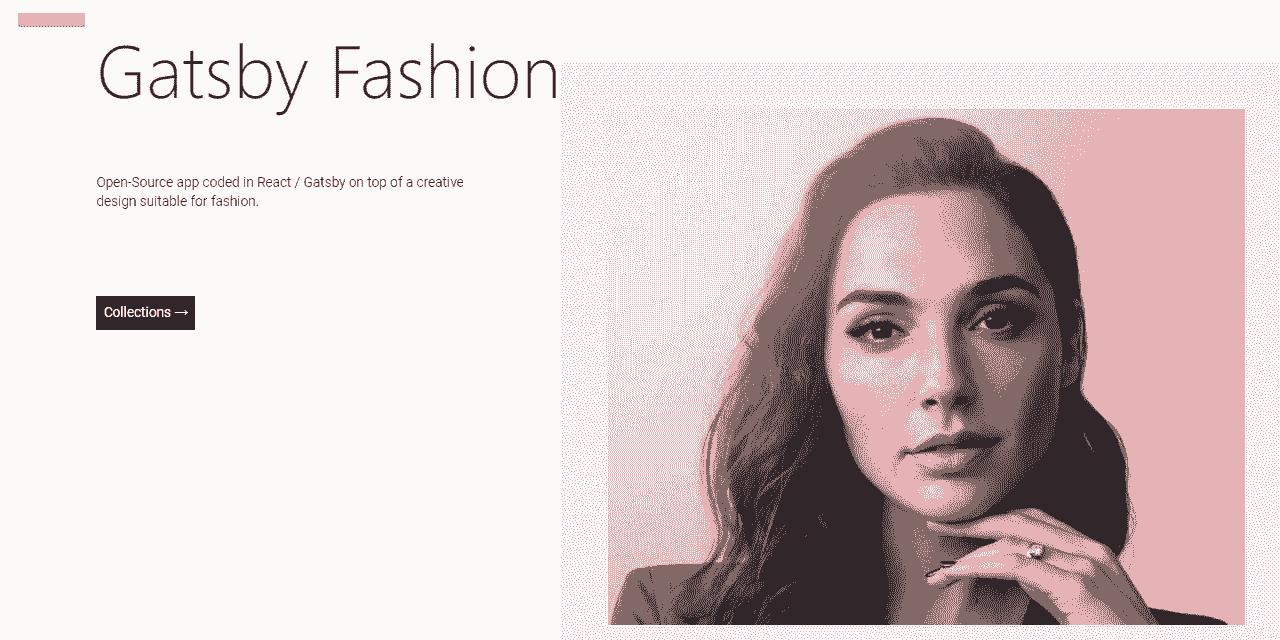 GatsbyJS Fashion - Fashion Portfolio Design.