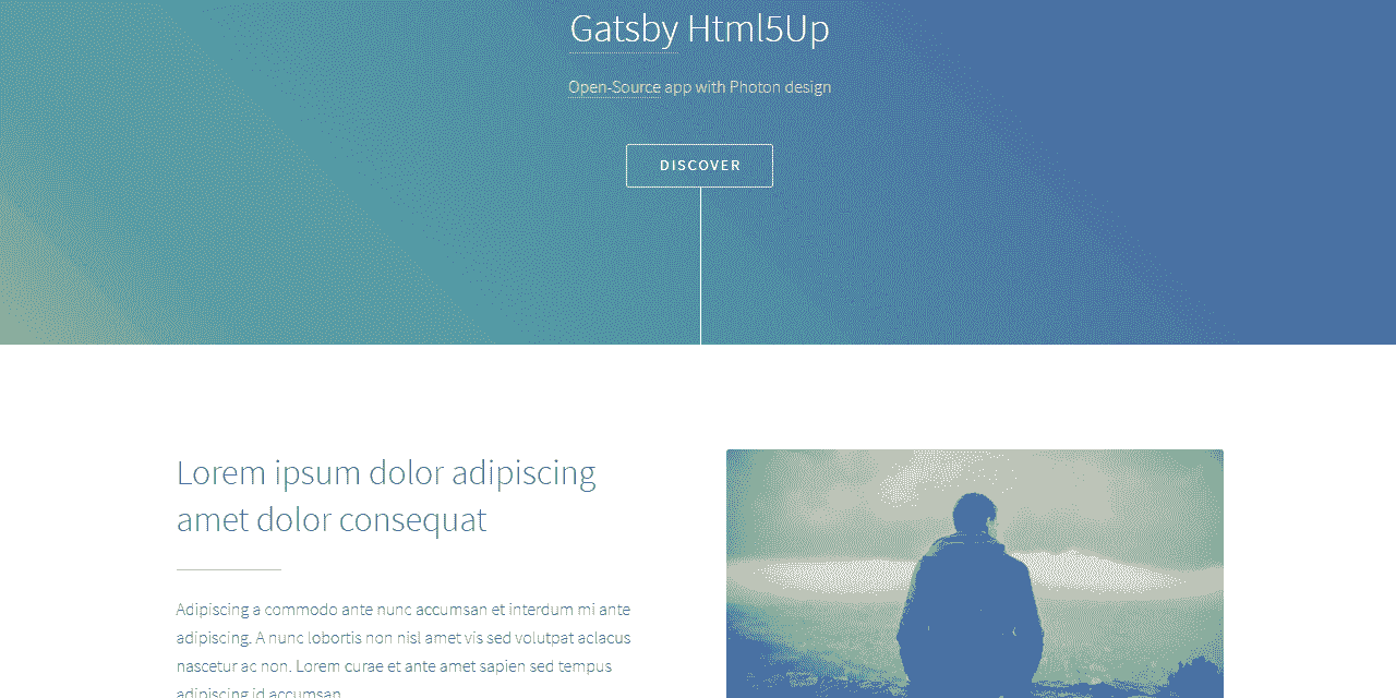GatsbyJS Photon - Photon Design.