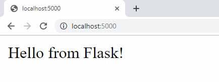 Flask Argon Dashboard - First run