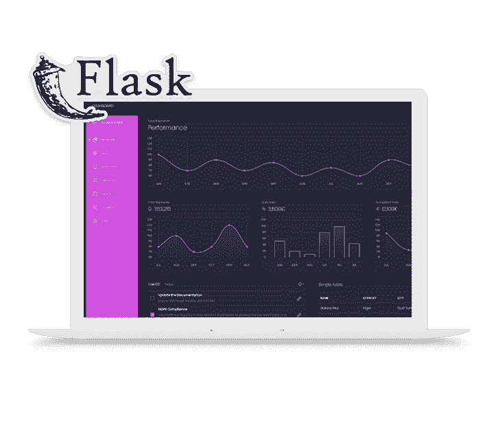 Black Dashboard, the open-source Bootstrap4 dashboard coded in Flask.
