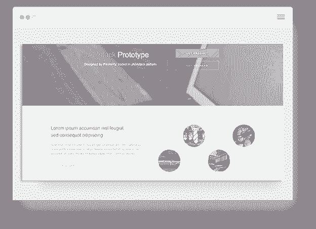 Flask Prototype screen-shot.