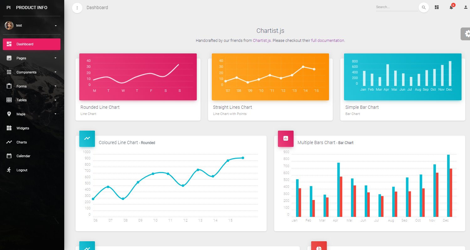 Premium Django Dashboards - Provided by AppSeed.