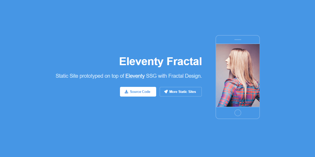 Eleventy Html5UP Fractal - Static Site built with 11ty.