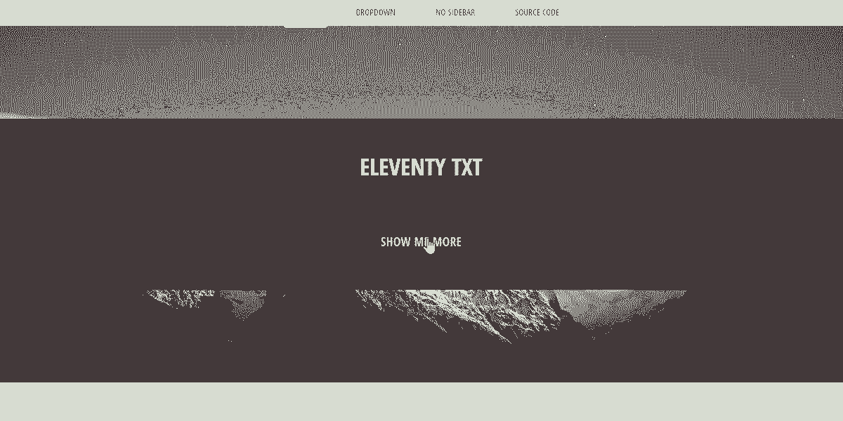 Main Image of Static Site  Eleventy TXT WebApp - generated in Flask by AppSeed App Generator.