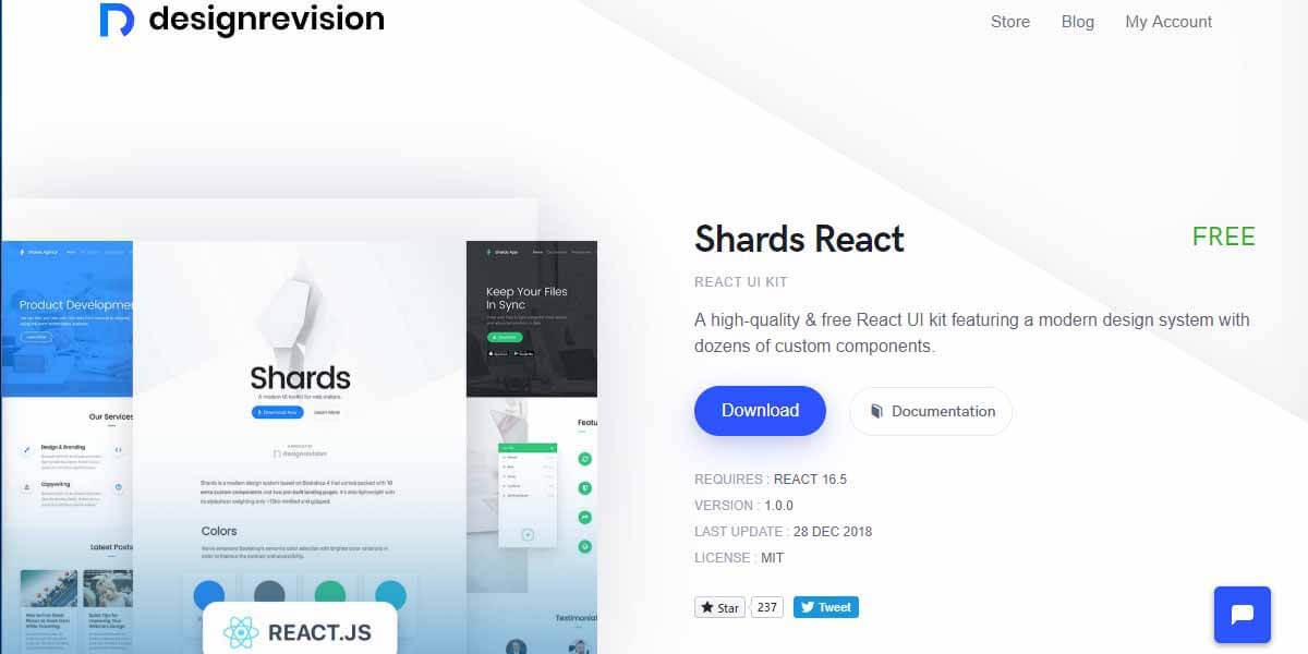 React App Shards - App Screen-Shot.