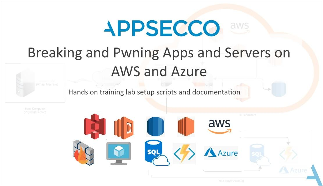 Breaking and Pwning Apps and Servers AWS+Azure Free Training