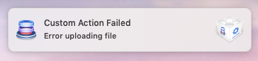 Failed Notification