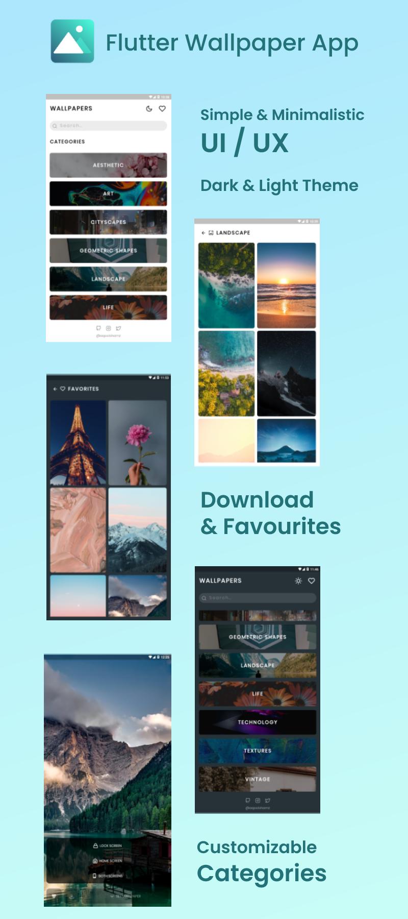 Flutter Wallpaper App - 2