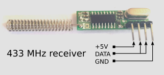433 MHz receiver