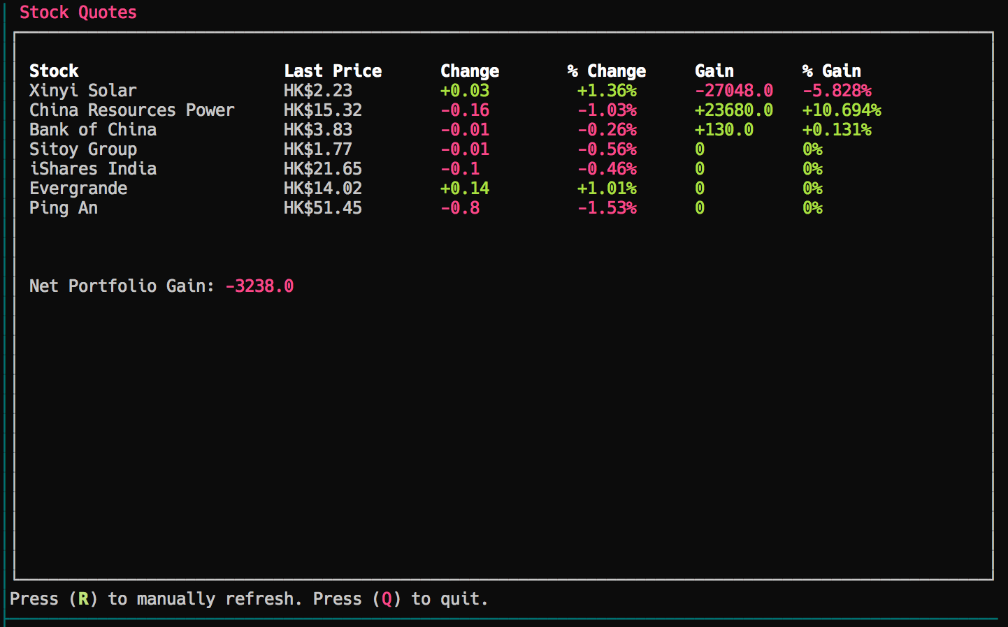 Building a Python CLI Stock Ticker with Urwid