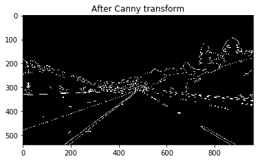 Canny Transform