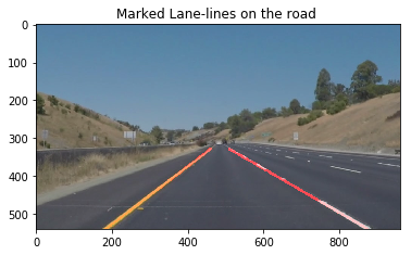 Final Lane Markings