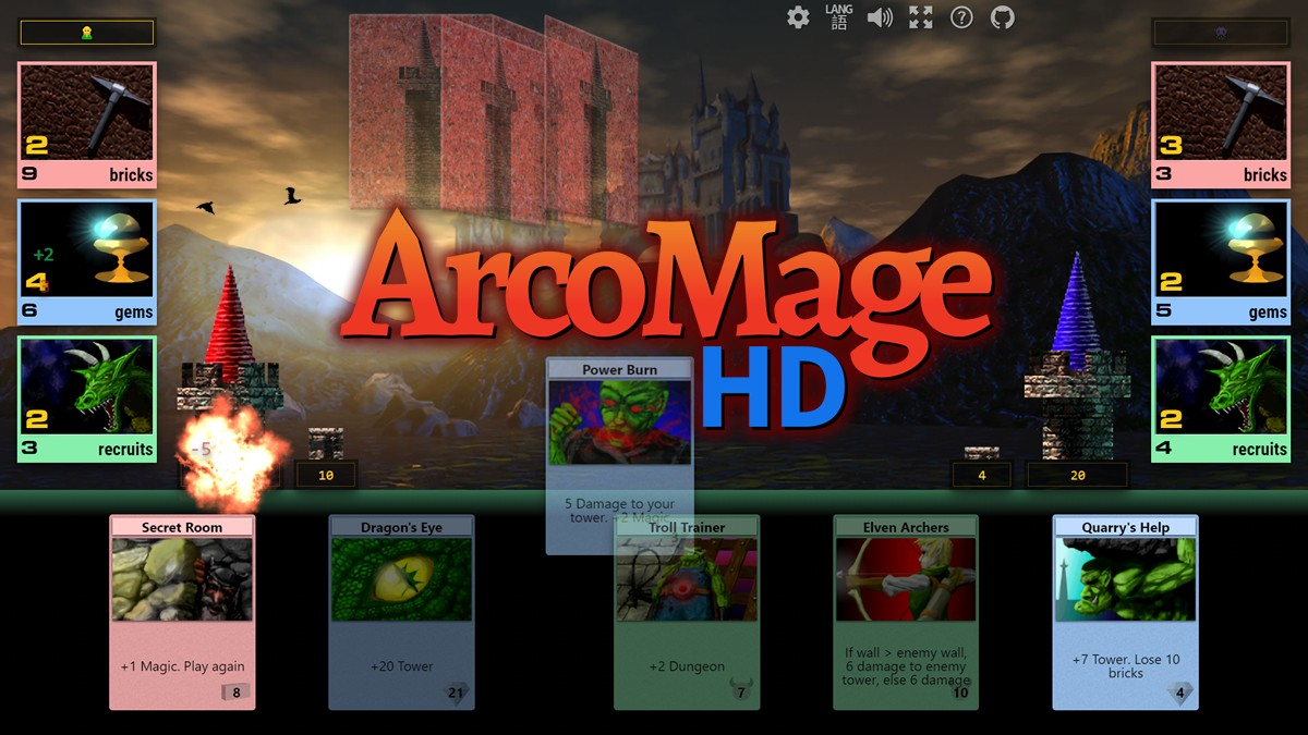 ArcoMage HD screenshot