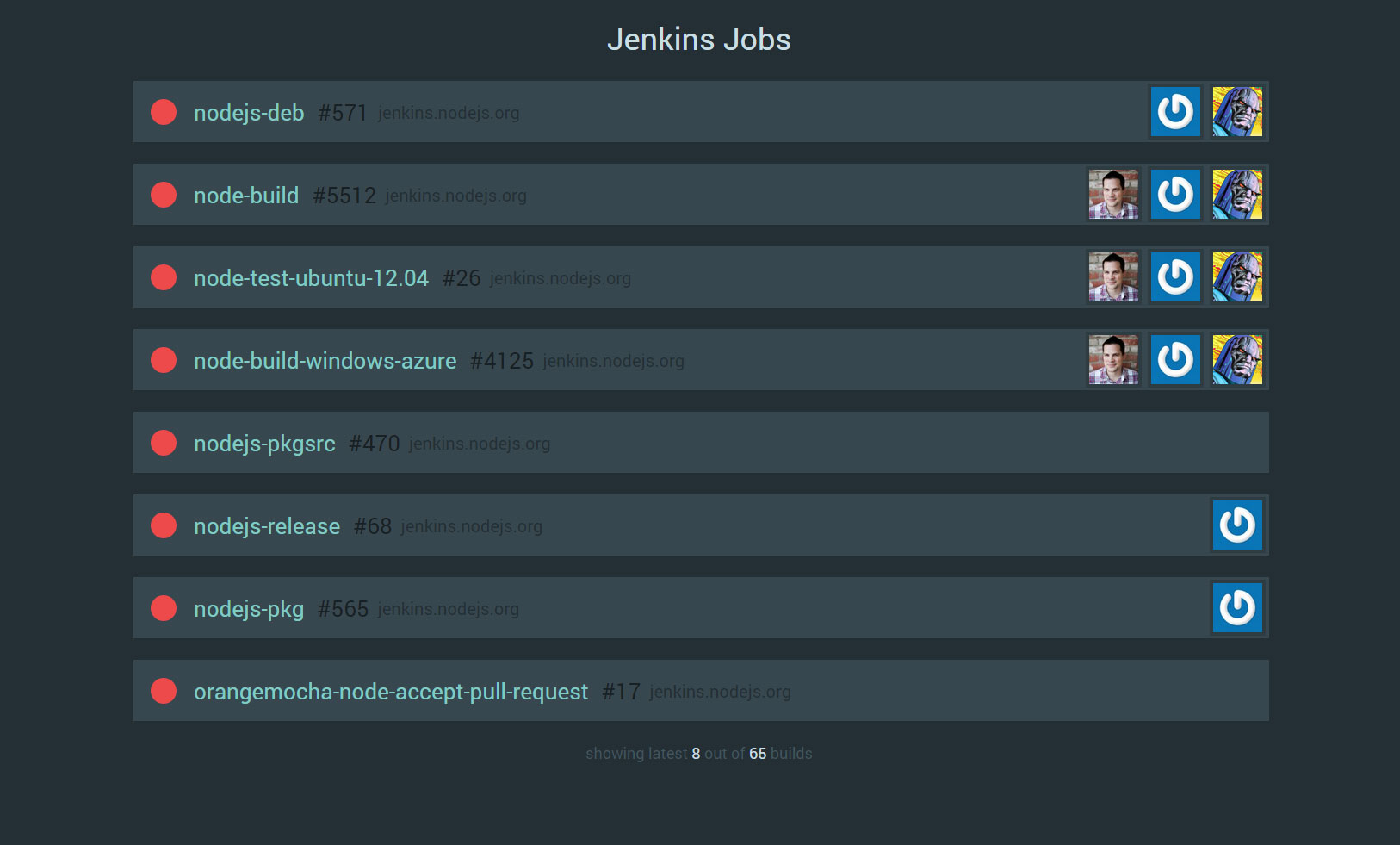 GitHub - arcturial/jenkins-dash: Jenkins Overview Dashboard