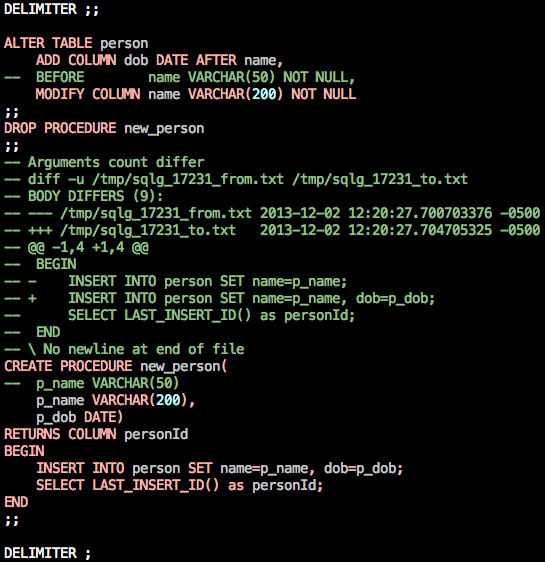 Colorized Syntax Screenshot