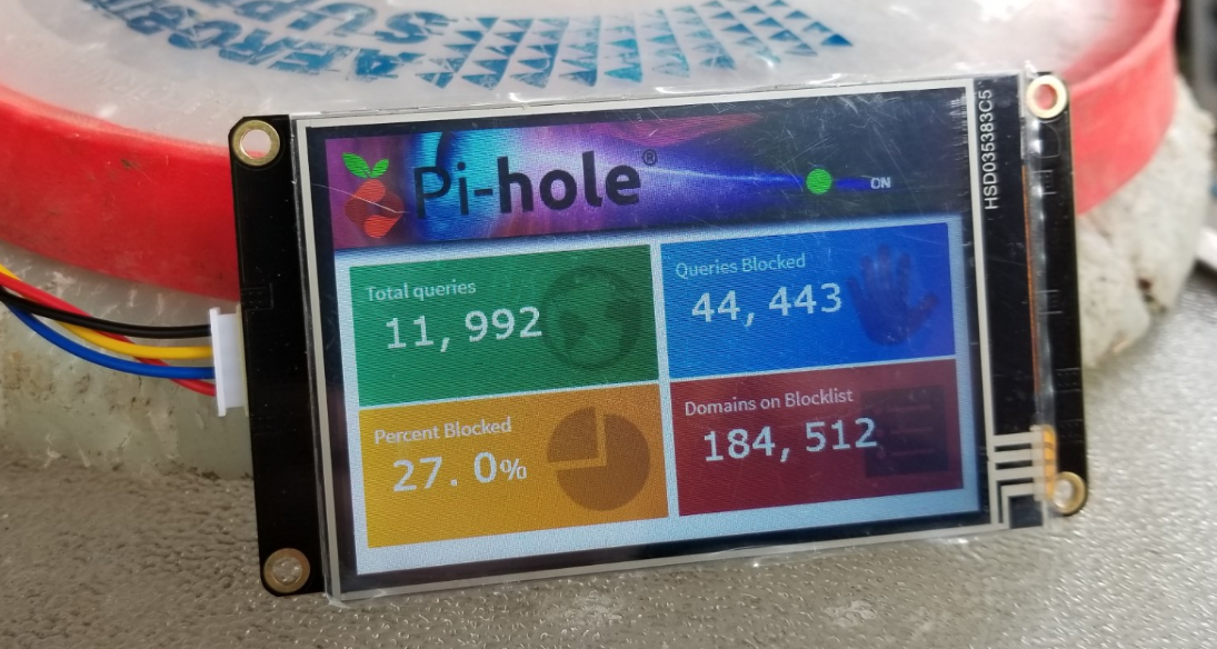 Pi-Hole stats on a Nextion display - Community How-to's - Pi
