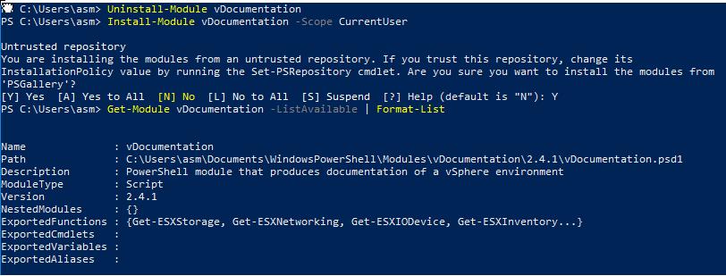 Quick vDocumentation Upgrade steps