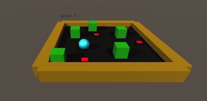 Simple Game In Unity 3D