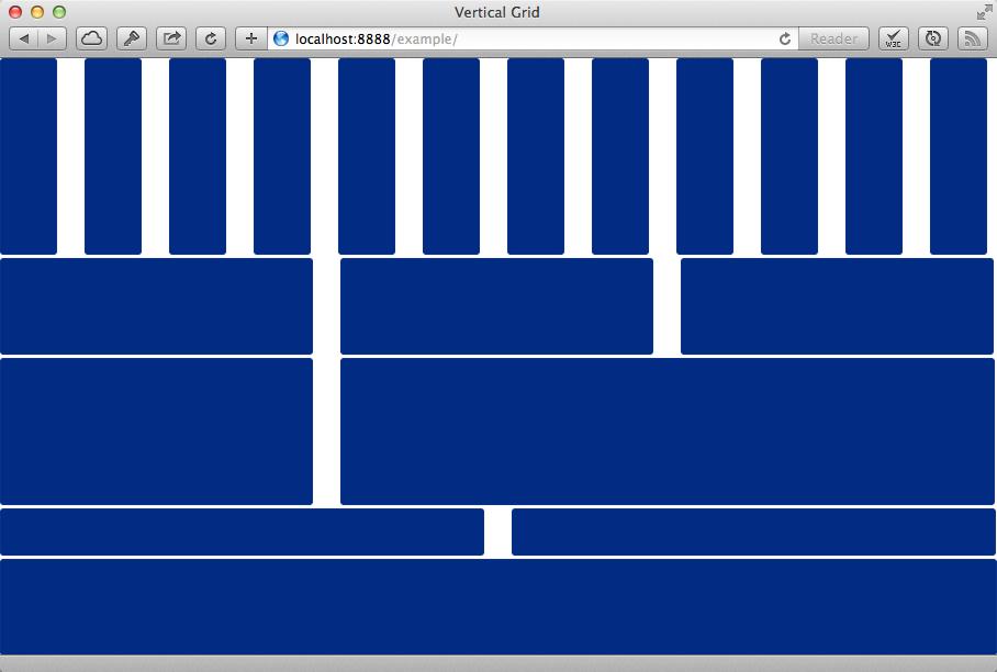 Vertical Grid grid