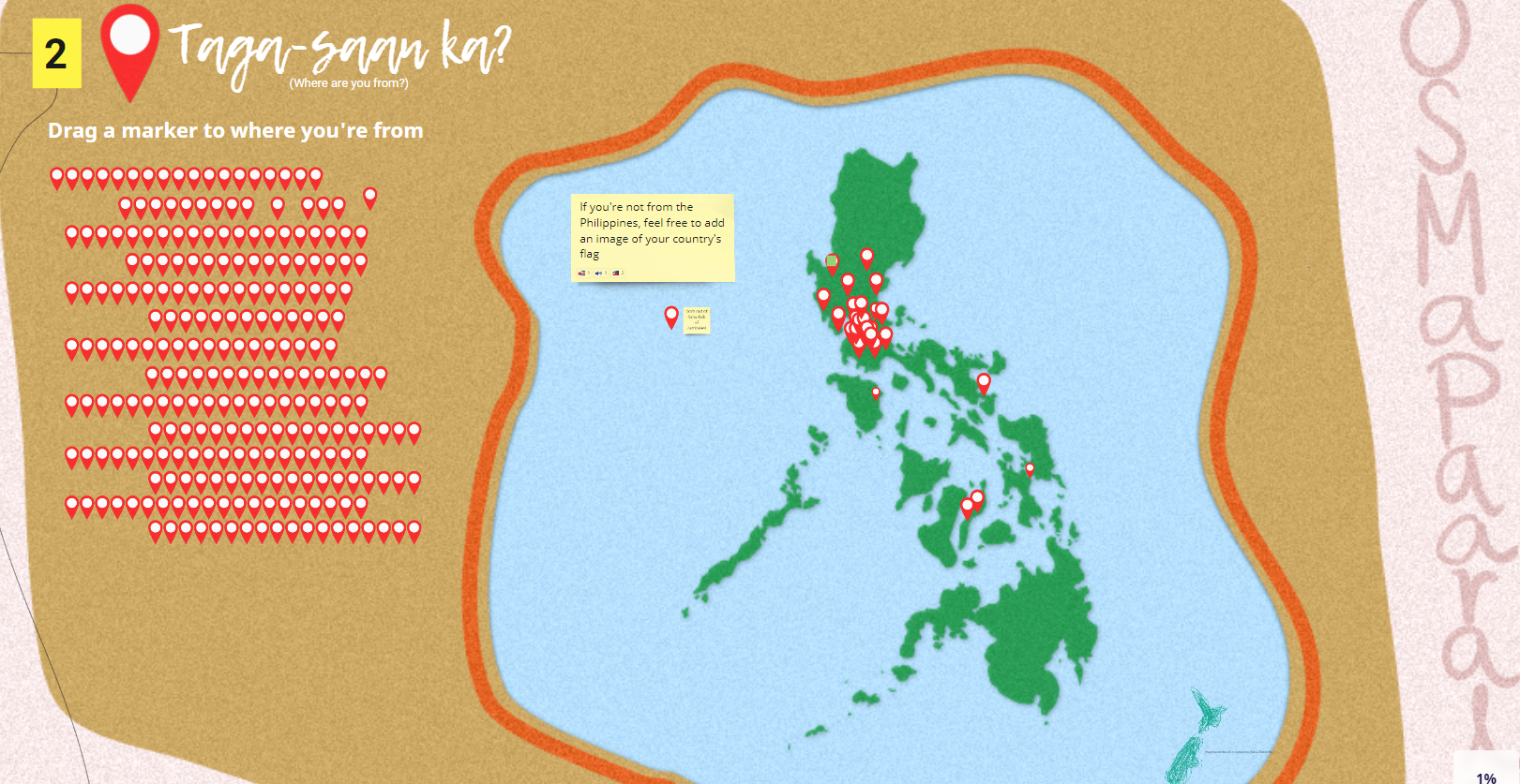 Taga-saan ka? (Where are you from?)