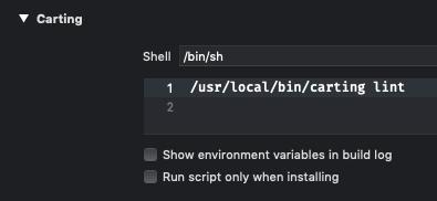 Run Script Phase