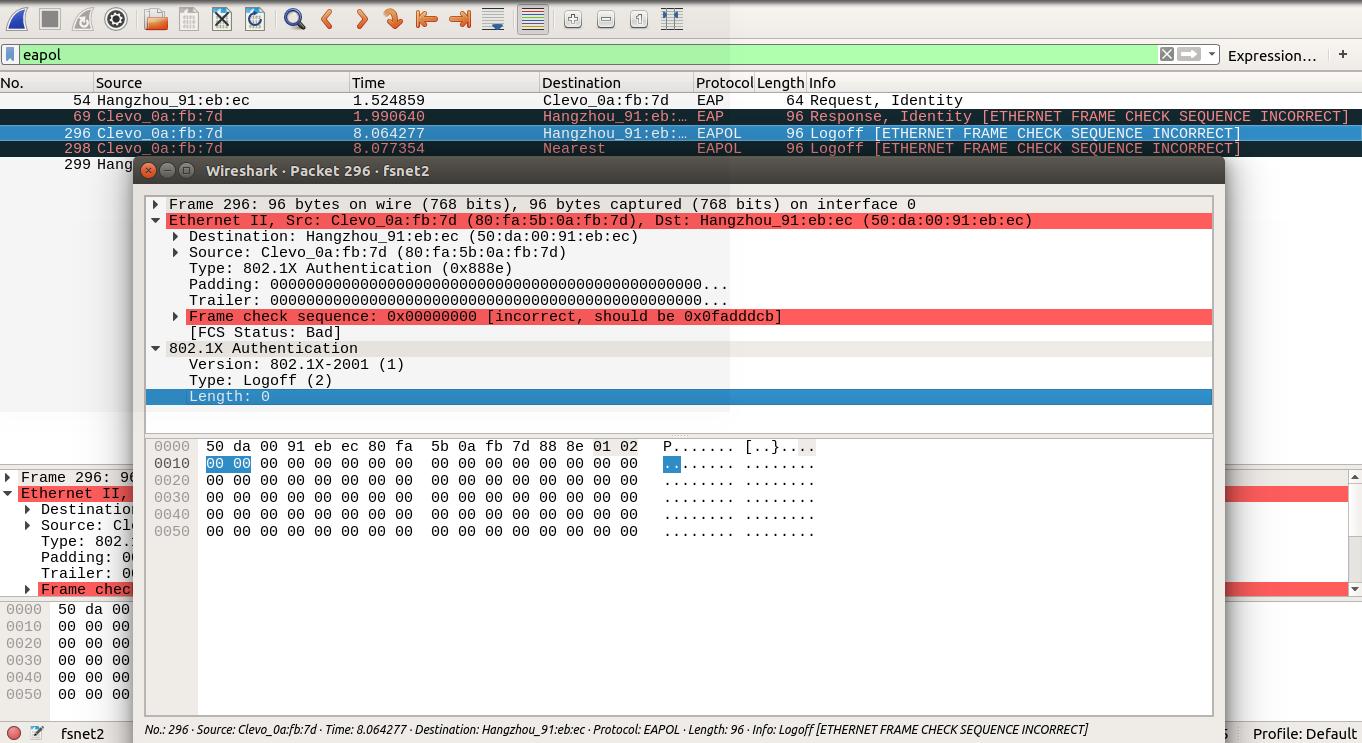 Use wireshark to analyze network packets  · artificerpi
