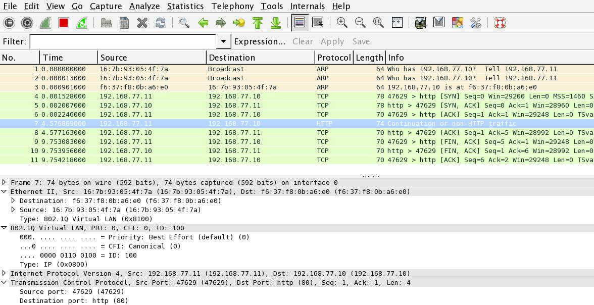 Open vSwitch Multiple VMs with VLANs · aschmidt75/docker