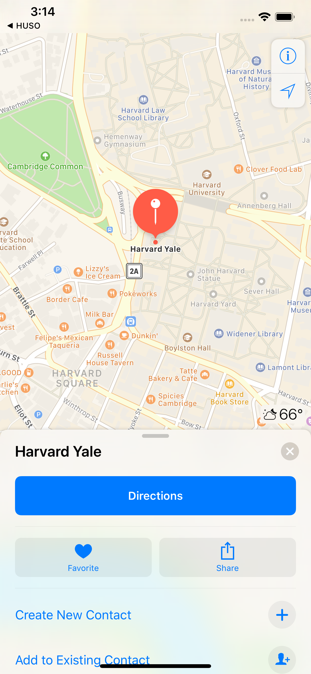 Clicking on Events Opens Maps