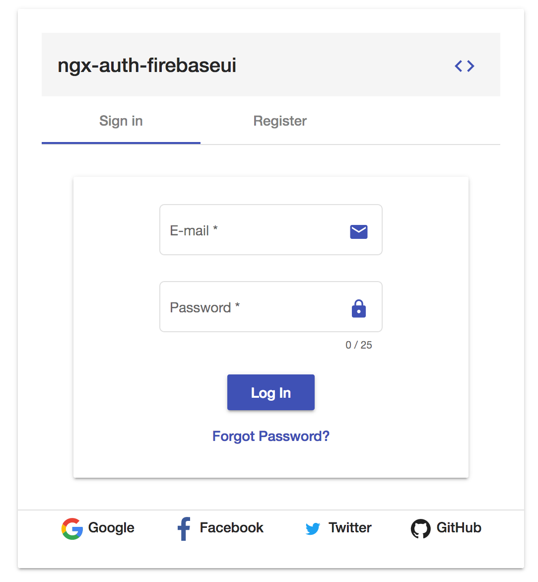 ngx-auth-firebaseui sign in