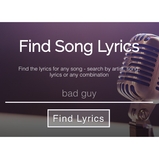 Lyric Finder screenshot