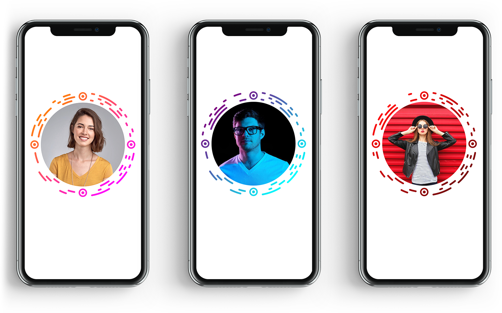 Different styles of RoundCode for iOS