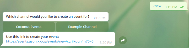 GitHub - asonix/telegram-event-bot: A bot written in rust to