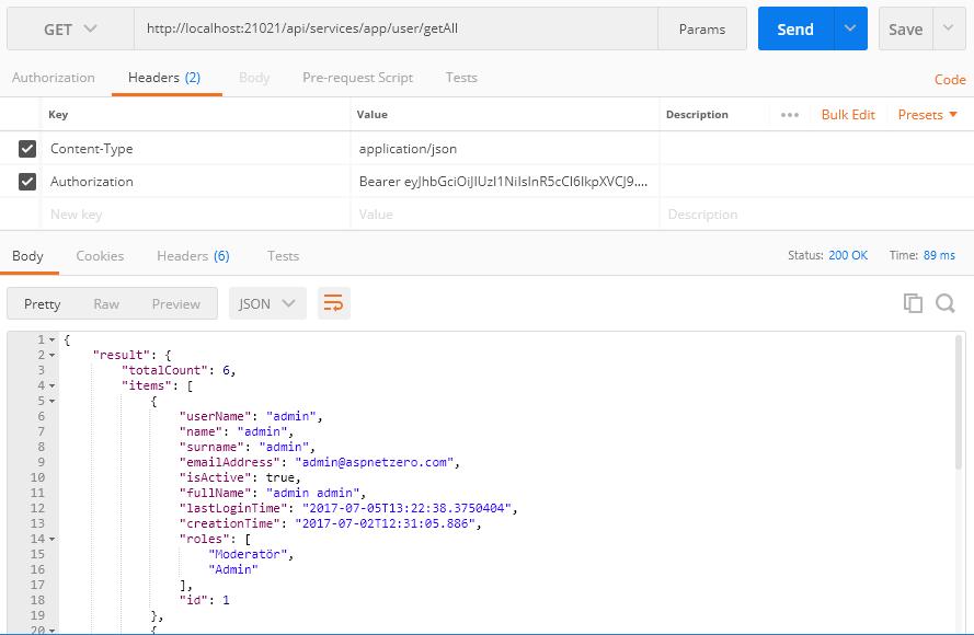 Using API