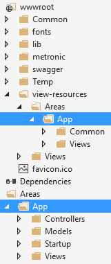 Application folders