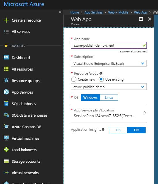 Deployment Angular Publish Azure | ASP NET Zero Documentation